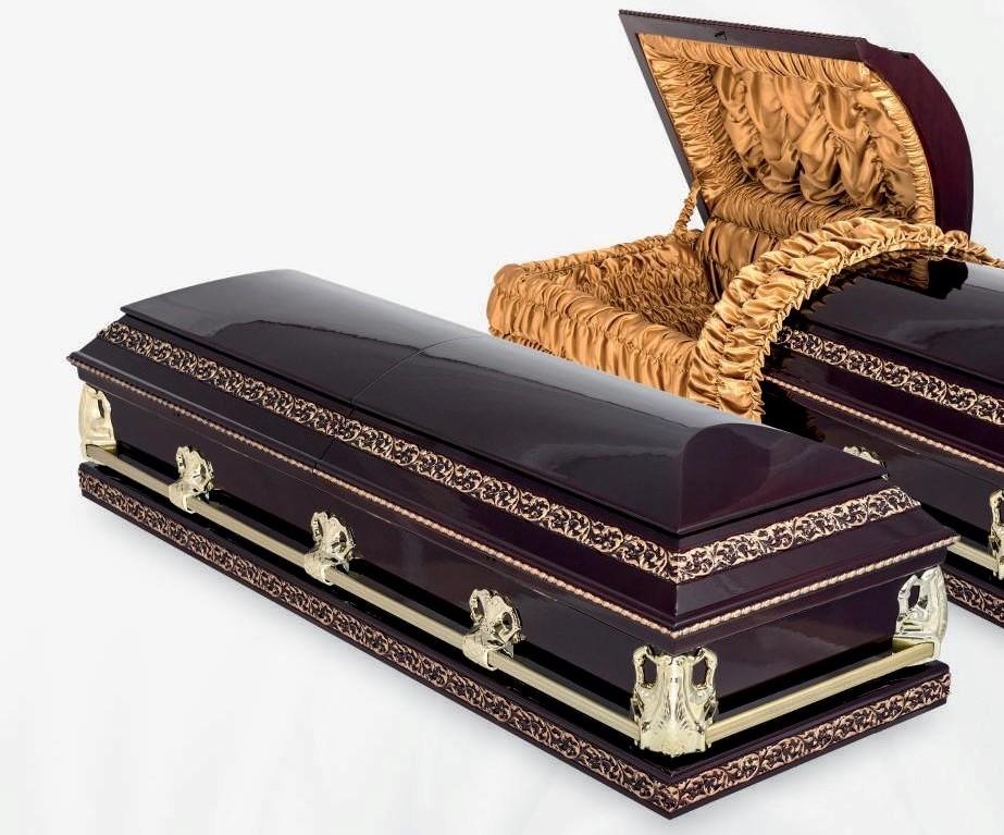 Элитные гробы в наличие и под заказ в Перми